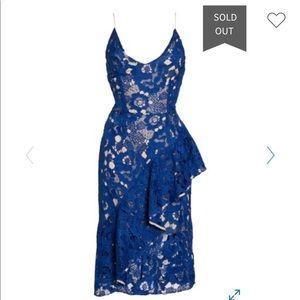 Cooper street blue dress style number: 17cs10414